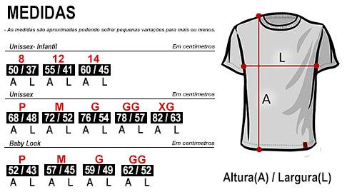 Descrição Camisas