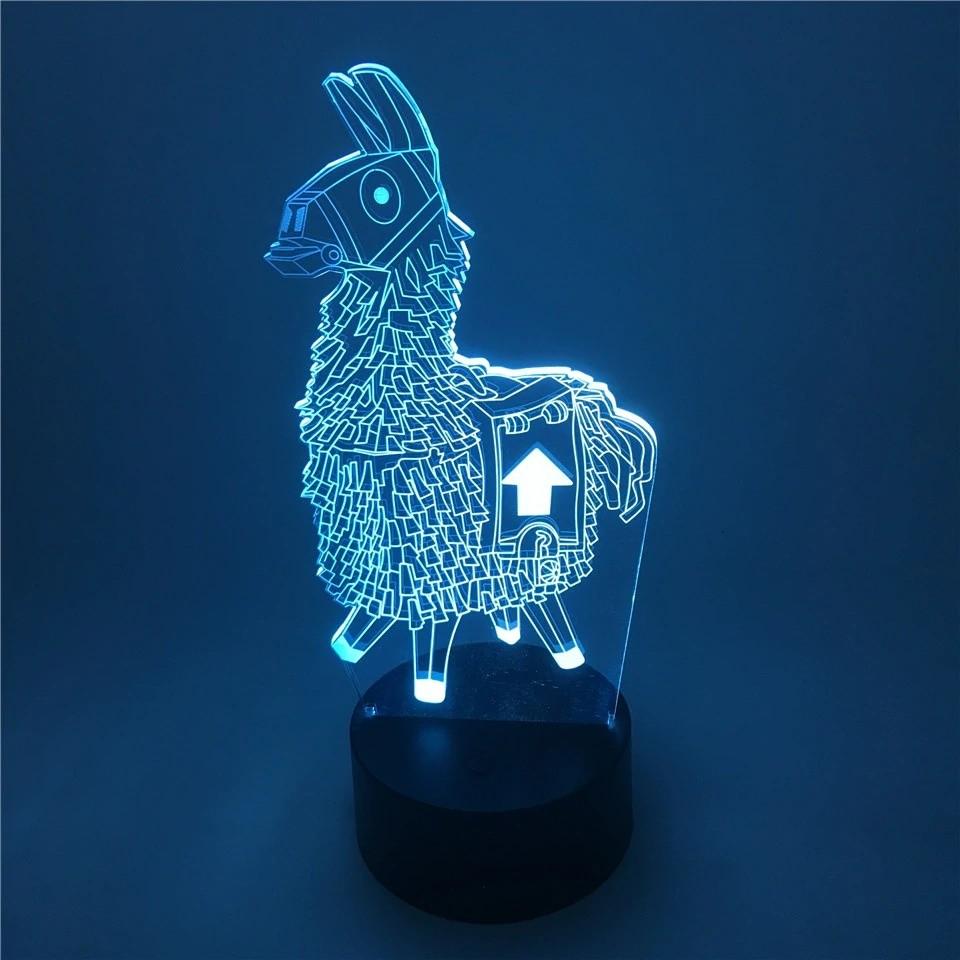 Luminária Pinhata Lhama Fortnite