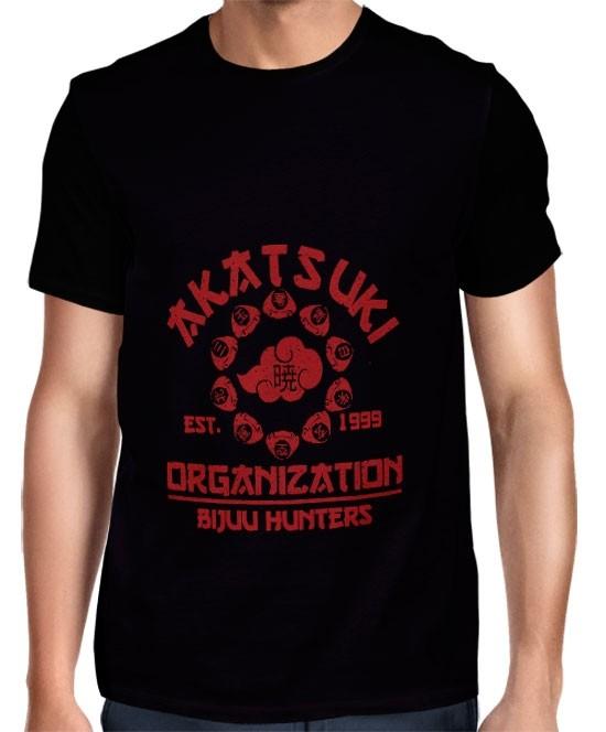 Camisa FULL Organização Akatsuki - Naruto