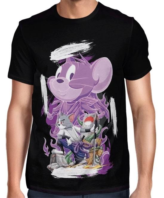 Camisa FULL Tom Sasuke Susanoo Exclusiva Naruto