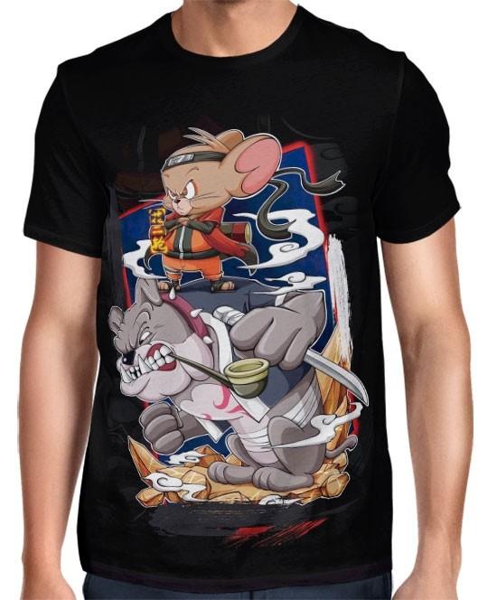 Camisa FULL Tom e Jerry Sennin Mode Exclusiva Naruto