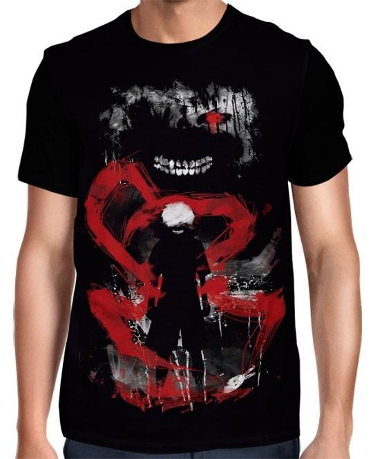 Camisa FULL Exclusiva Kaneki  - Tokyo Ghoul
