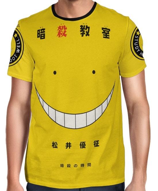Camisa FULL Print Exclusiva Assassination Classroom