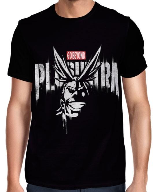 Camisa Boku No Hero Academia - All Might -  Plus Ultra