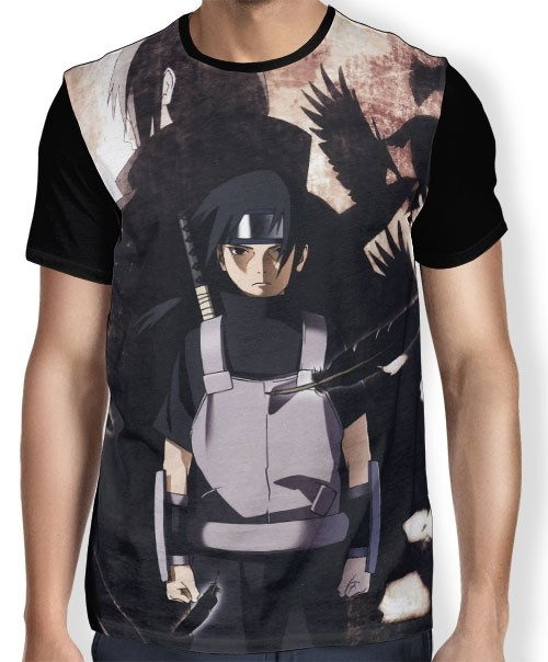 Camisa FULL Fight Itachi - Naruto
