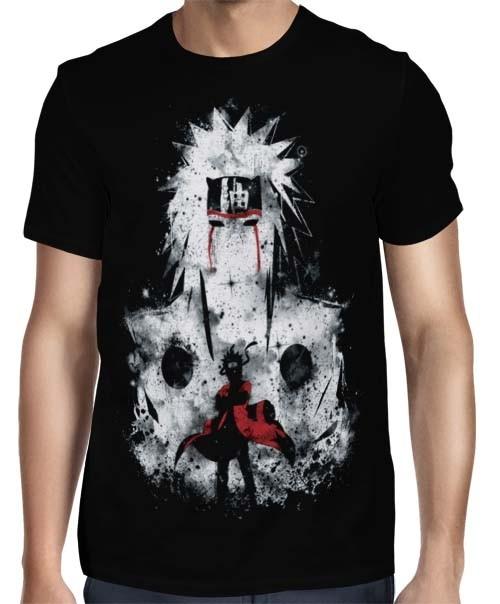 Camisa FULL Draw Blood Jiraiya - Naruto
