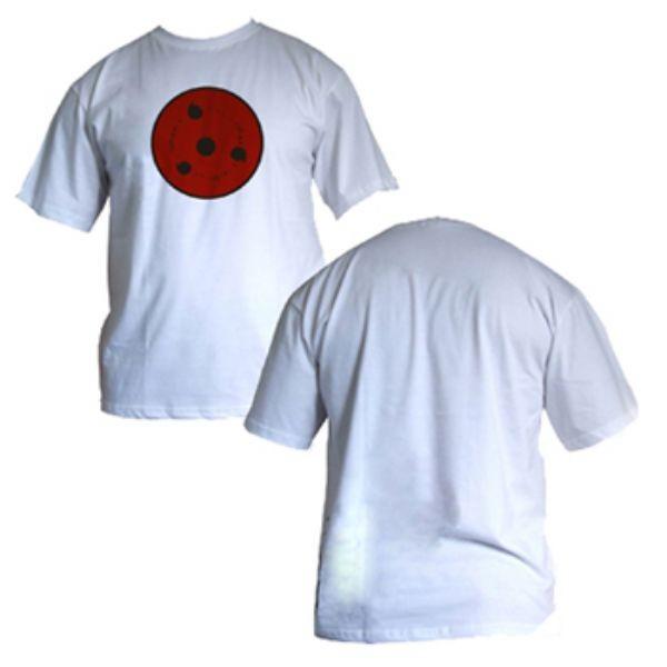 Camisa Naruto - SH Sharingam LVL 3 - Modelo 01