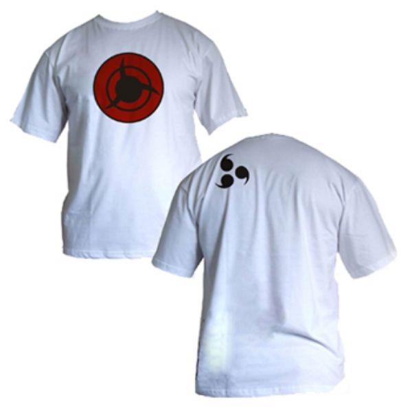 Camisa Naruto - SH Transição Mangekyou - Modelo 01