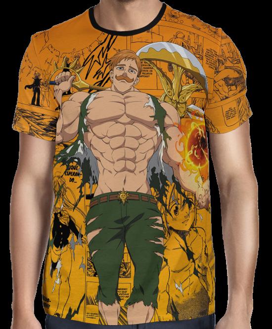 Camisa Nanatsu no Taizai Escanor Exclusiva Full Print