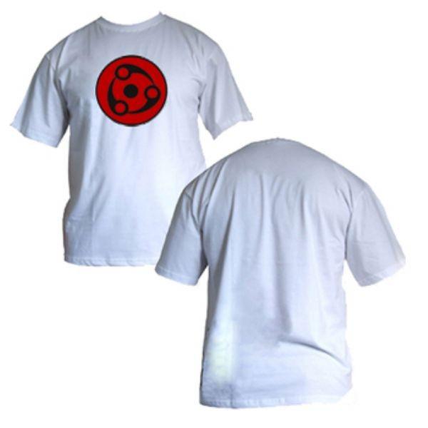 Camisa Naruto - SH Madara Mangekyou - Modelo 01