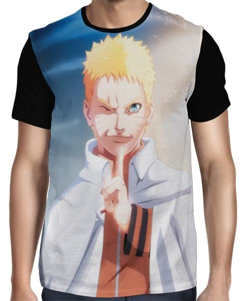 Camisa FULL Naruto Seventh Hokage Modelo 2