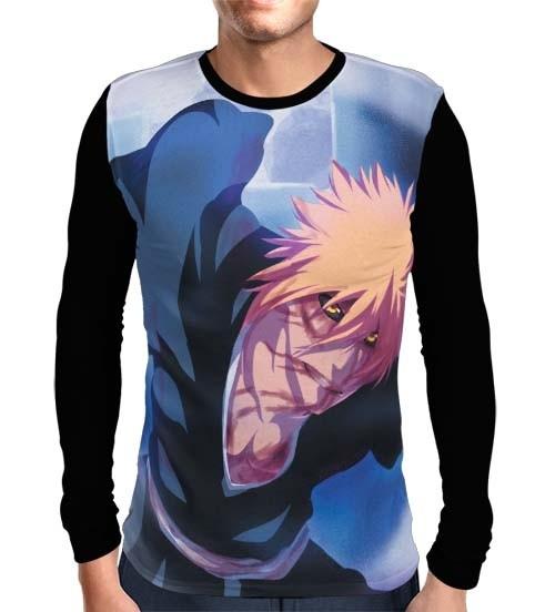 Camisa Manga Longa Powers Ichigo - Bleach