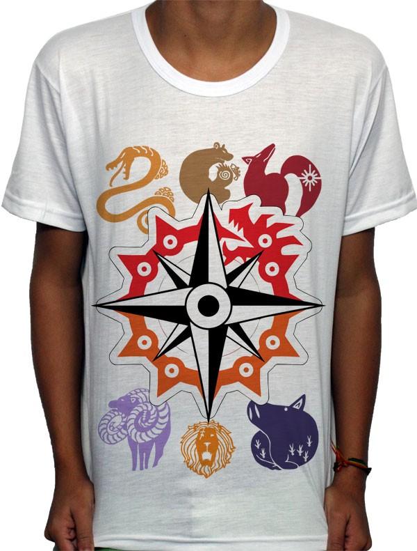 Camisa SB 7 Pecados - Nanatsu no Taizai
