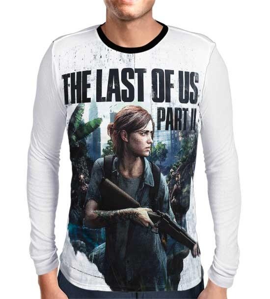 Camisa Manga Longa The Last of Us Part 2 (EXCLUSIVA)