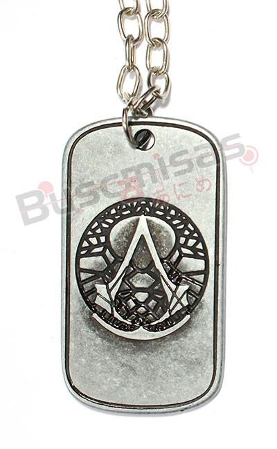 AC-05 - Colar DogTag Assassins Creed