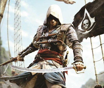 Mouse Pad - Black Flag - Assassins Creed IV