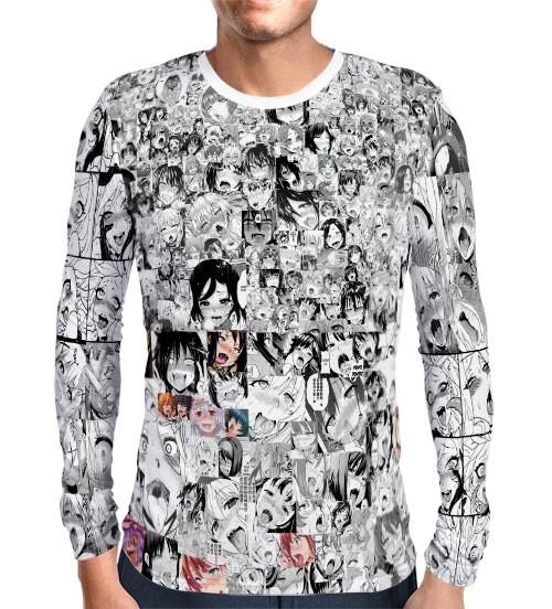 Camisa Manga Longa Print AHEGAO