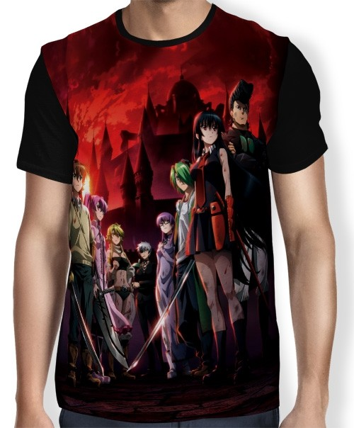 Camisa FULL Night Raid - Akame Ga Kill