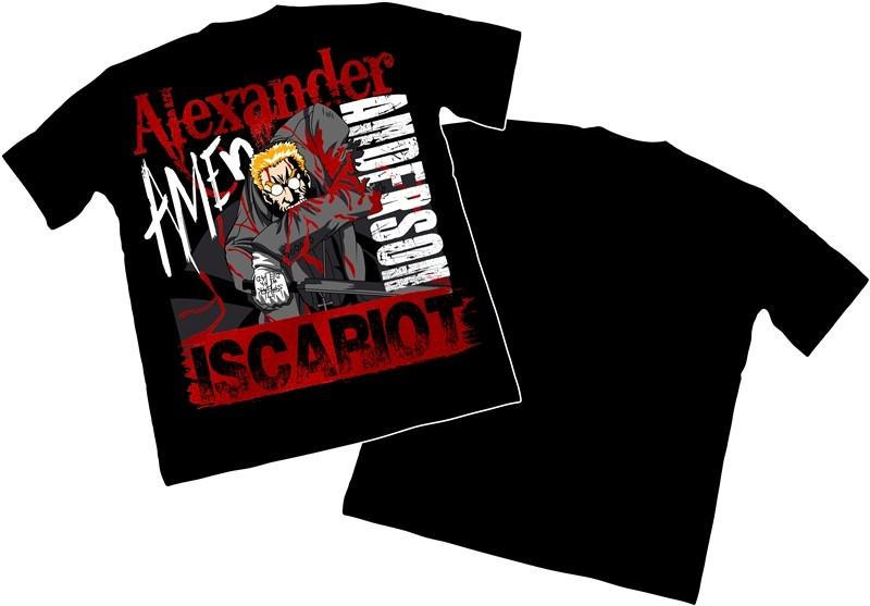 Camisa Hellsing Alexander  Anderson - Modelo 04