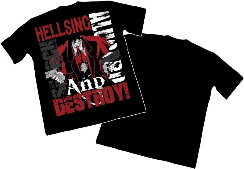 Camisa Hellsing - Alucard - Modelo 04