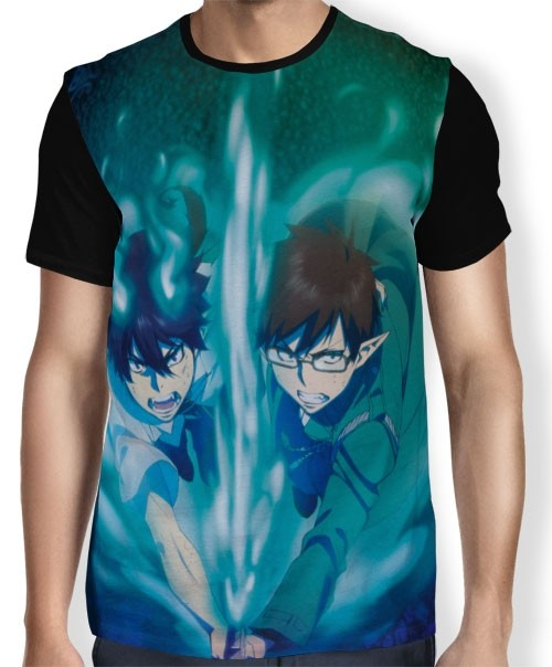 Camisa FULL Yukio e Rin  Okumura - Ao no Exorcist