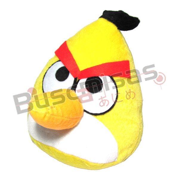 CPANB-01 - Pelúcia Chuck Angry Bird Amarelo