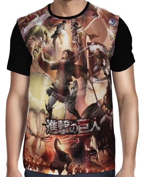 Camisa FULL Part 2 Season 3 - Shingeki no Kyojin