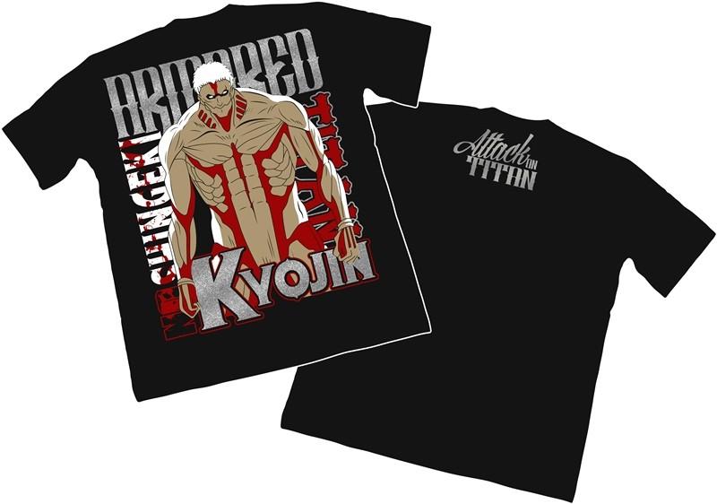 Camisa Shingeki no Kyojin - Armored Titan