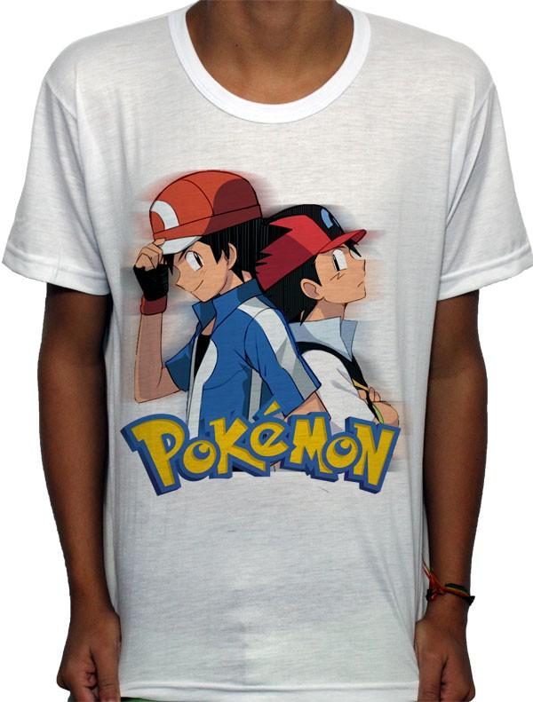 Camisa SB - ASH - Pokemon