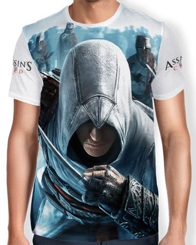 Camisa Full Print - Assassins Creed