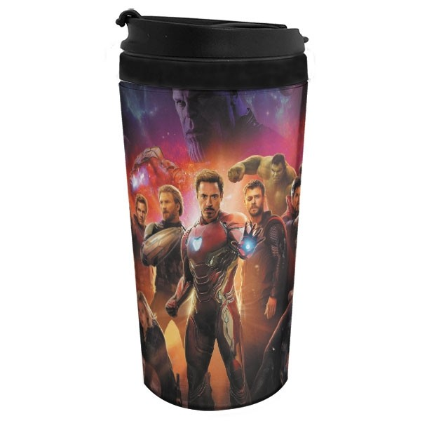 Copo Térmico Vingadores - Avengers - Guerra Infinita