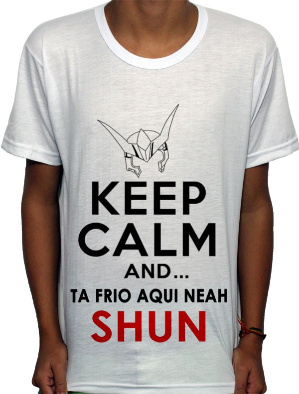 Camisa AW - keep Calm Shun
