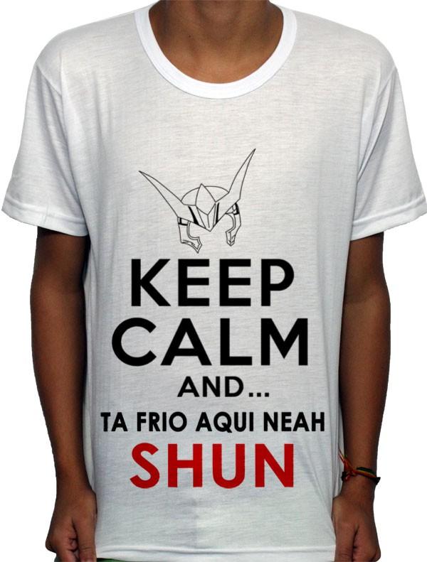 Camisa AW - keep Calm Shun