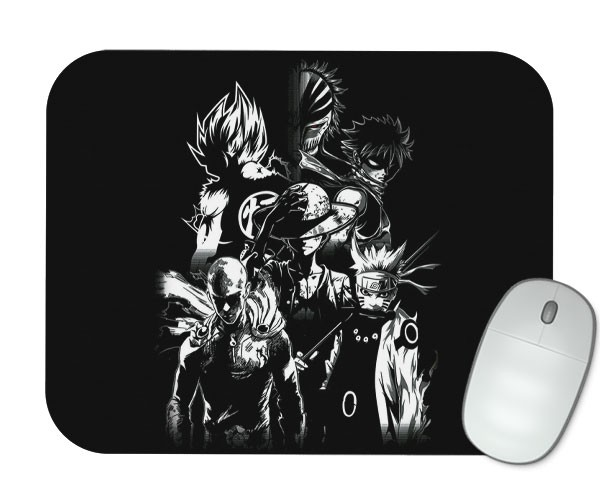 Mouse Pad - Especial Protagonistas - Best Animes