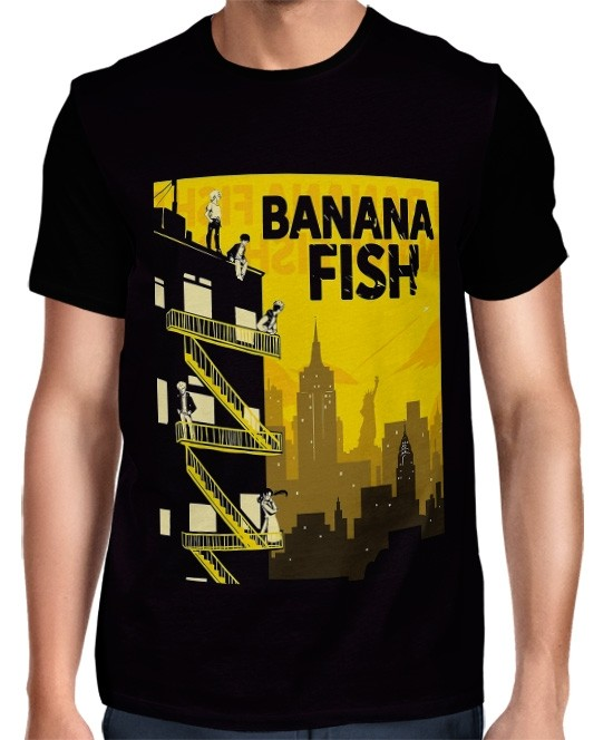 Camisa Full Banana Fish Exclusiva Mod 02