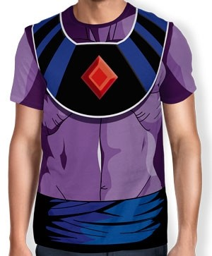 Camisa Full Print Uniforme - Bills - Dragon ball