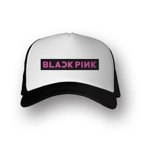Boné Trucker Blackpink - Preto