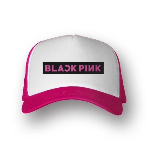 Boné Trucker Blackpink - Rosa