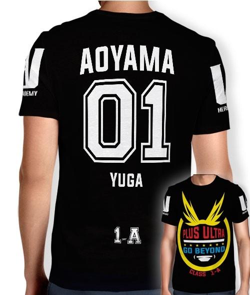 Camisa Full PRINT Go Beyond - Ayoyama Yuga - Boku No Hero Academia