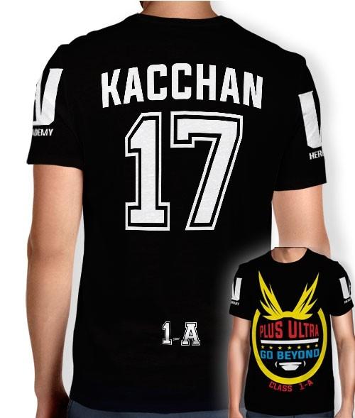 Camisa Full PRINT Go Beyond - Kacchan Bakugo - Boku No Hero Academia