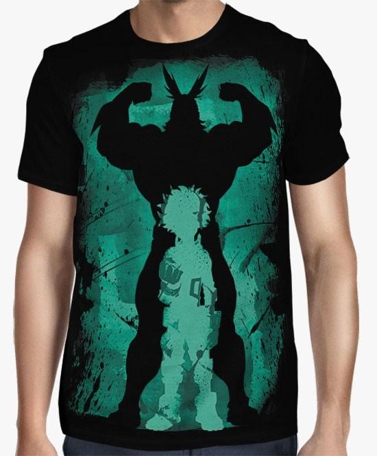 Camisa FULL Boku No Hero Academia - All Might & Deku Silhouettes