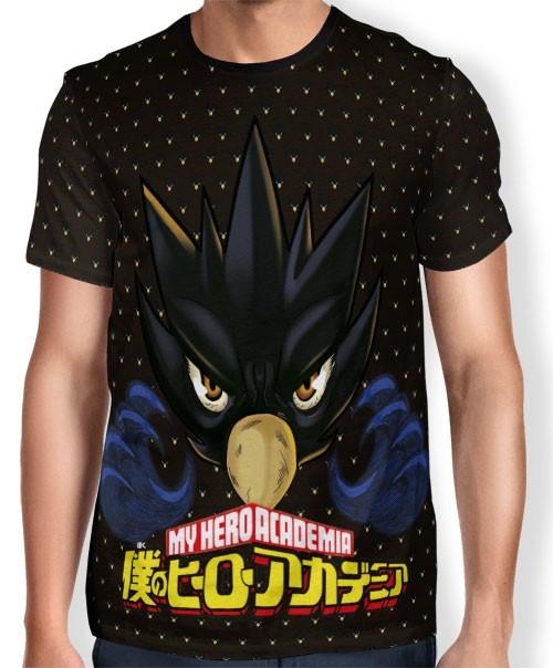 Camisa Full Print Fumikage Tokoyami - Boku No Hero Academia
