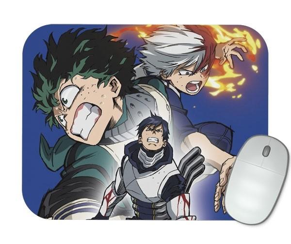 Mouse Pad Iida - Deku - Todoroki - Boku No Hero Academia