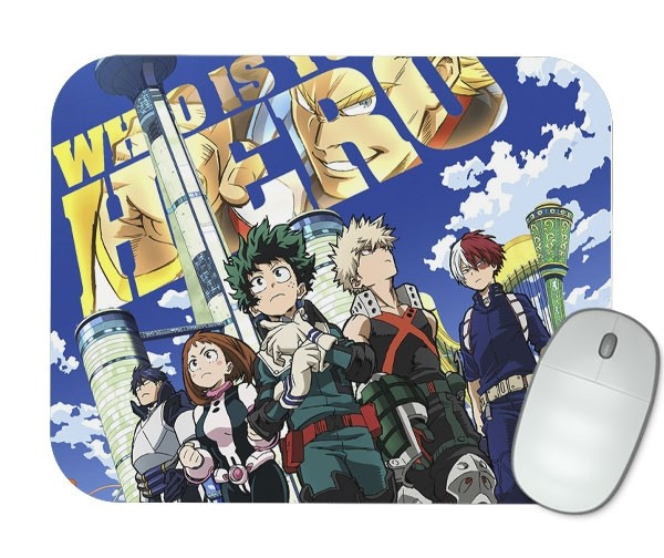 Mouse Pad - Boku No Hero Academia - The Movie: Two Heroes