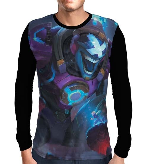 Camisa Manga Longa Brand Chefão - League of Legends