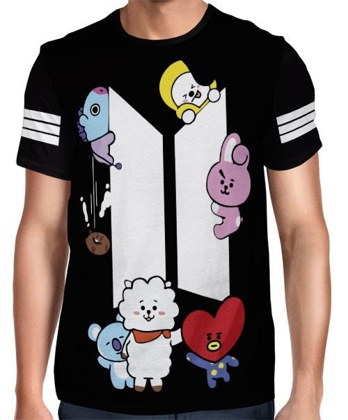 Camisa Full PRINT BTS - UNIVERSTAR BT21 - K-Pop