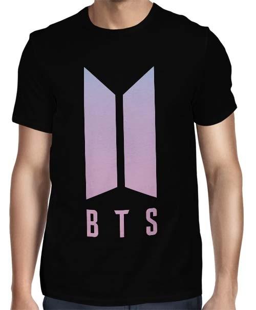 Camisa FULL BTS Logo Especial - Só Frente - K-Pop