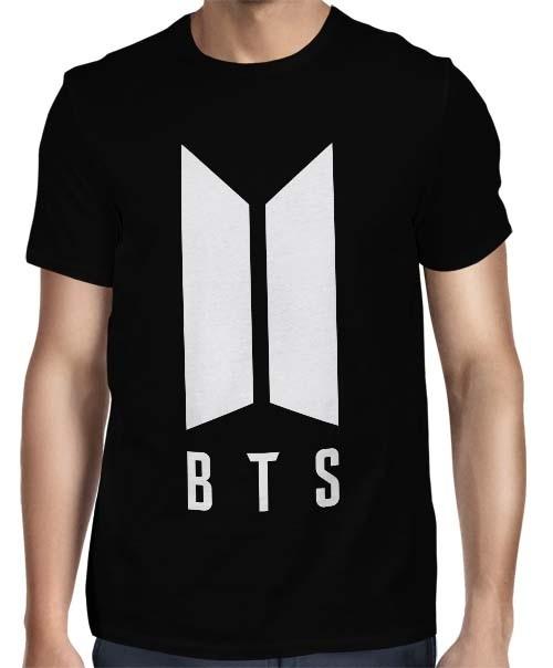 Camisa FULL BTS Logo Normal - Só Frente - K-Pop