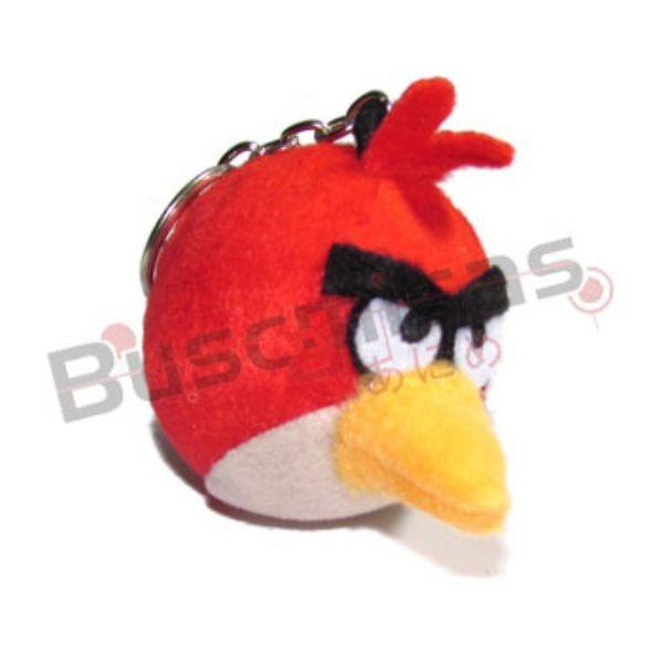 CHPL-01 - Chaveiro Pelucia Angry Bird - Vermelho