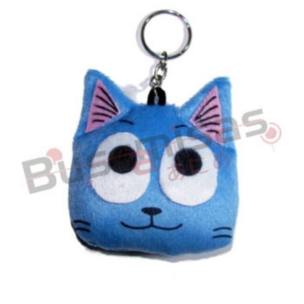 CHPL-06 - Chaveiro Pelucia Happy - Fairy Tail